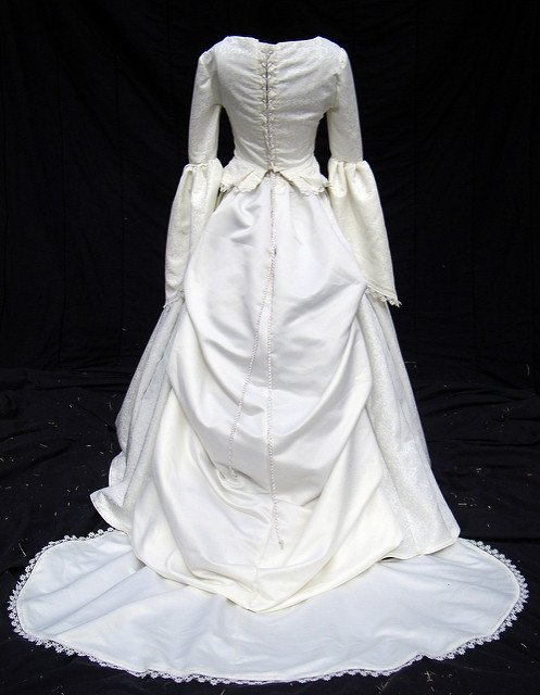 Irish and Victorian wedding dress
