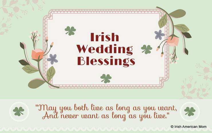 Graphic for Irish Wedding Blessings