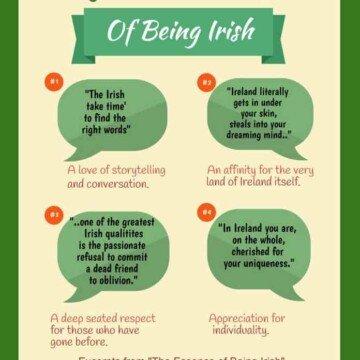 Favorite Irish Quotations on The Essence of Being Irish