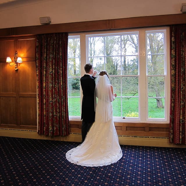 The bride and groom on their Irish wedding day - Irish wedding blessings