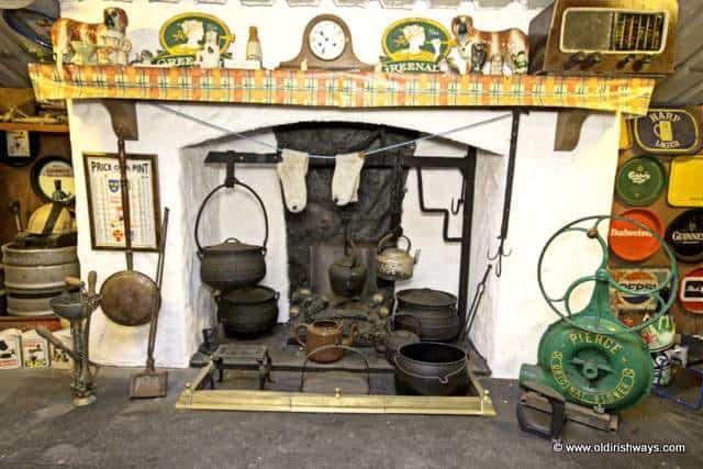 An Irish Hearth - Old Irish Ways Museum