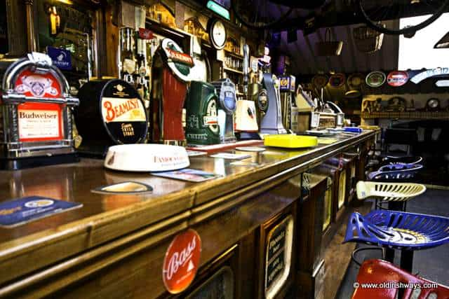 An Irish bar from days gone by - Old Irish Ways Museum