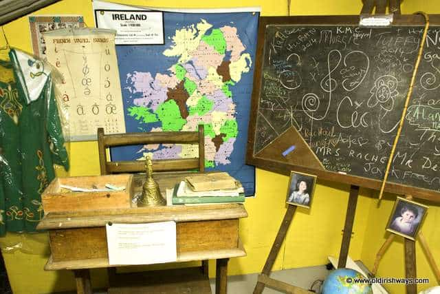 An old Irish School - Old Irish Ways Heritage Museum