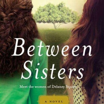 Rear view of two girls standing beside each other on book cover