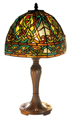 Celtic Knotwork Tiffany Style Lamp