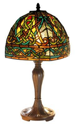 Celtic Knotwork Tiffany Style Lamp