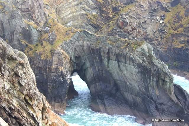 Sea arch at Mizen Head