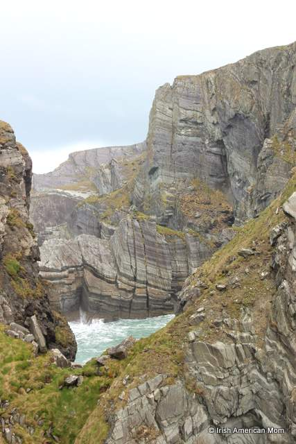 Sheer cliff face at Mizen Head