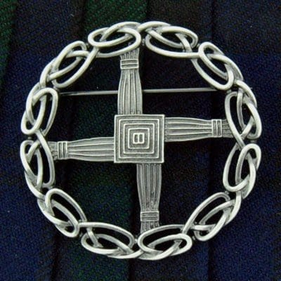 St. Brigid's Cross Brooch