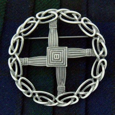 St. Brigid's Cross Brooch