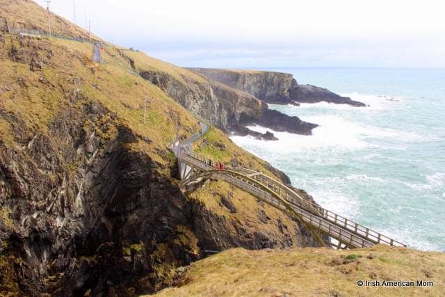 The cliffs at Mizen Head Cork