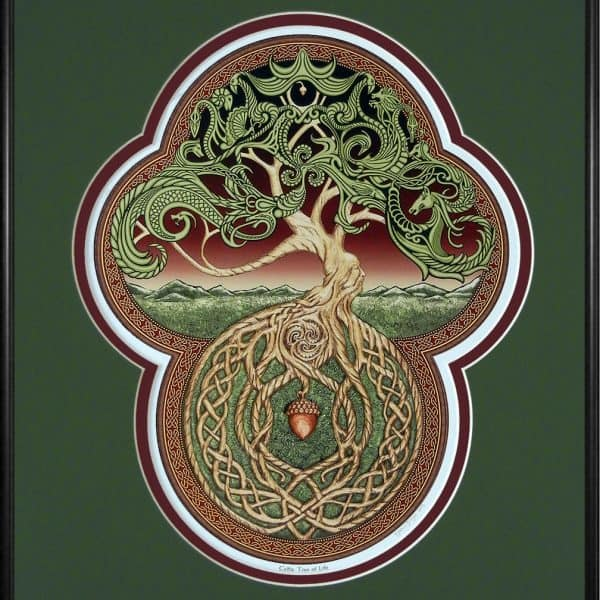 Celtic Tree of Life Digital Pring