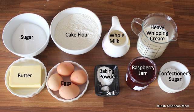 ingredients-for-a-victoria-sponge-sandwich-cake-irish-or-english-style