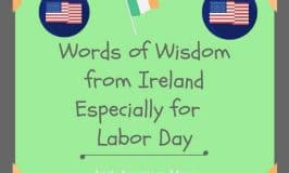 Irish proverbs about hard work for labor day