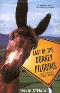Book cover for last of the Donkey Pilgrims