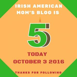 5 years of blogging graphic