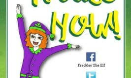 Freckles The Elf Sprinkles Christmas Magic On The Global Irish Community