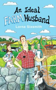 Front book cover for An Ideal Farm Husband