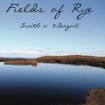 A lake featured on the cover of the book Fields of Rye