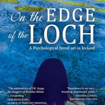 Front book cover for The Edge of the Lough by Joseph Éamonn Cummins