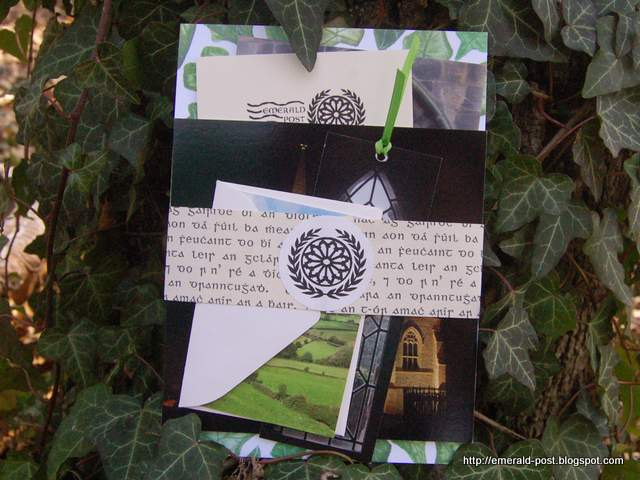 Stationary and cards with images of Ireland