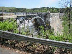 Looking toward Old Croton Dam New York
