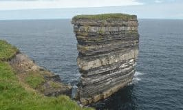 Sea stack off the coast of Ireland