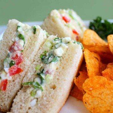 Irish salad sandwich recipe and tutorial
