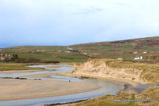 Barley Cove Beach in West Cork with sandy stretches