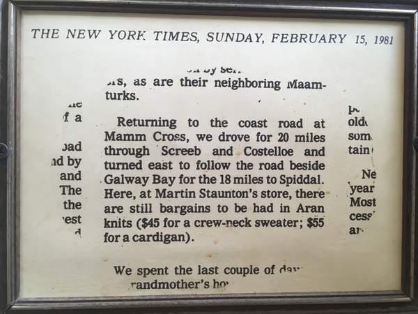Text from a newspaper clipping