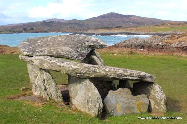 Wedge Tomb or Dolmen near Schull West Cork