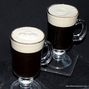 Irish coffee should look like a pint of Guinness