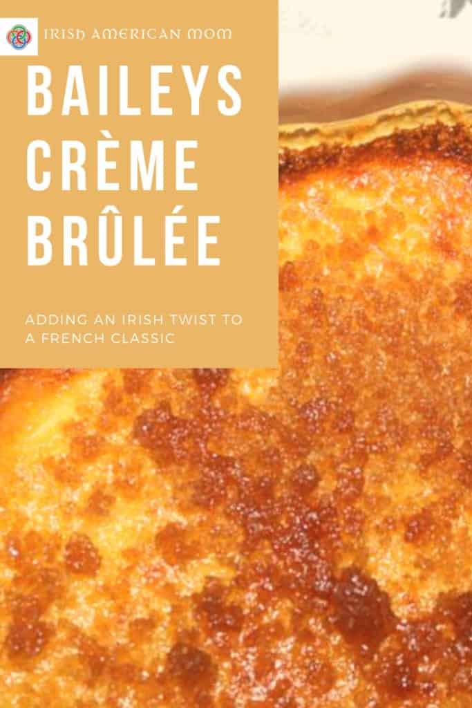 A little Irish cream liqueur adds an Irish twist to a classic French recipe