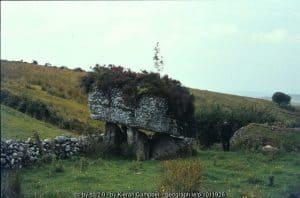 Dolmen in County Sligo