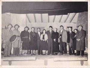Original cast of the Irish play Sive