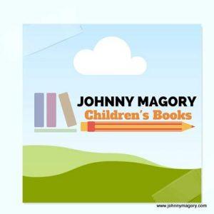 logo for Johnny Magory children's books