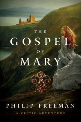 Book cover with text and a picture of a woman standing on a cliff