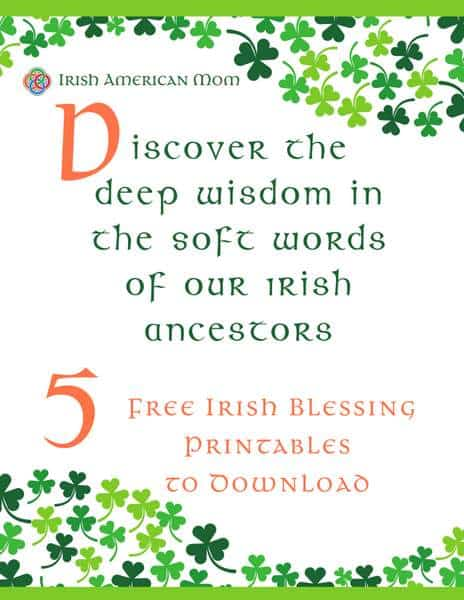 Irish Blessing Printables