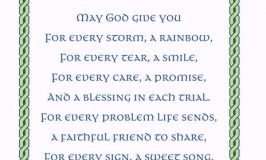 May God Give You For Every Storm a Rainbow Printable