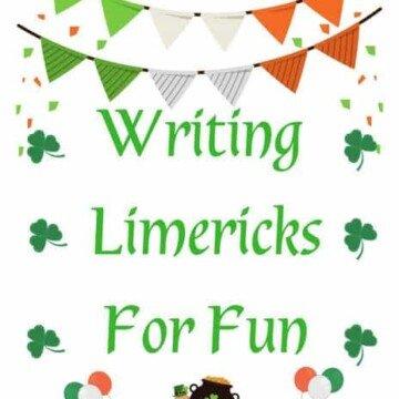 Writing Limericks for Fun Printable