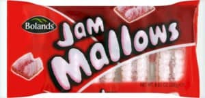 red packet for jam mallow biscuits
