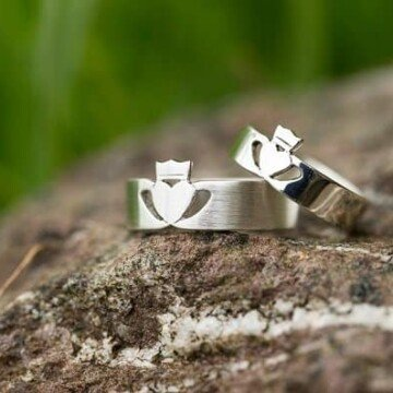 Cladagh wedding rings from Ireland