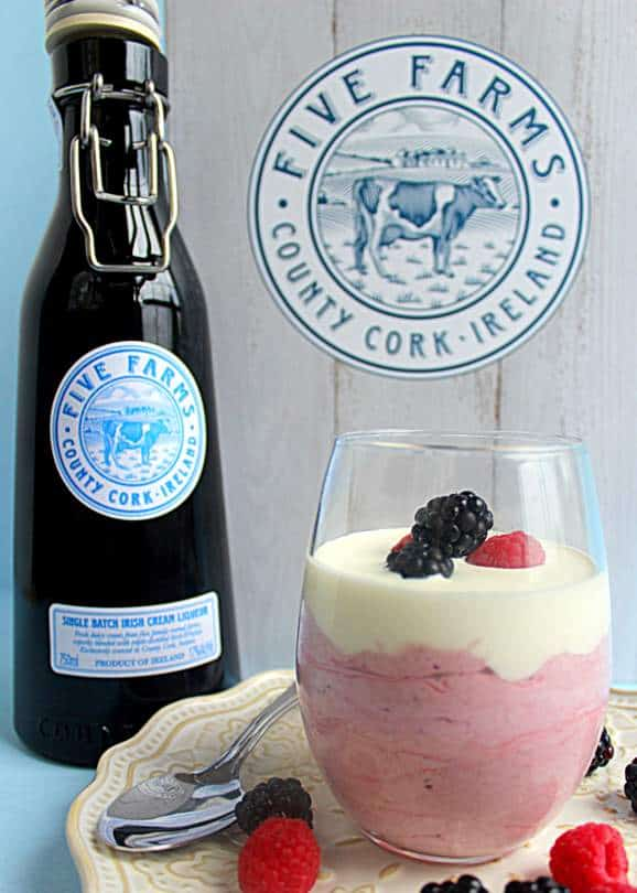 Berry Irish Cream Mousse