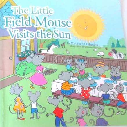 Image and Text on a book cover featuring mice