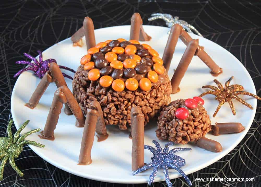 Halloween no bake spider treat