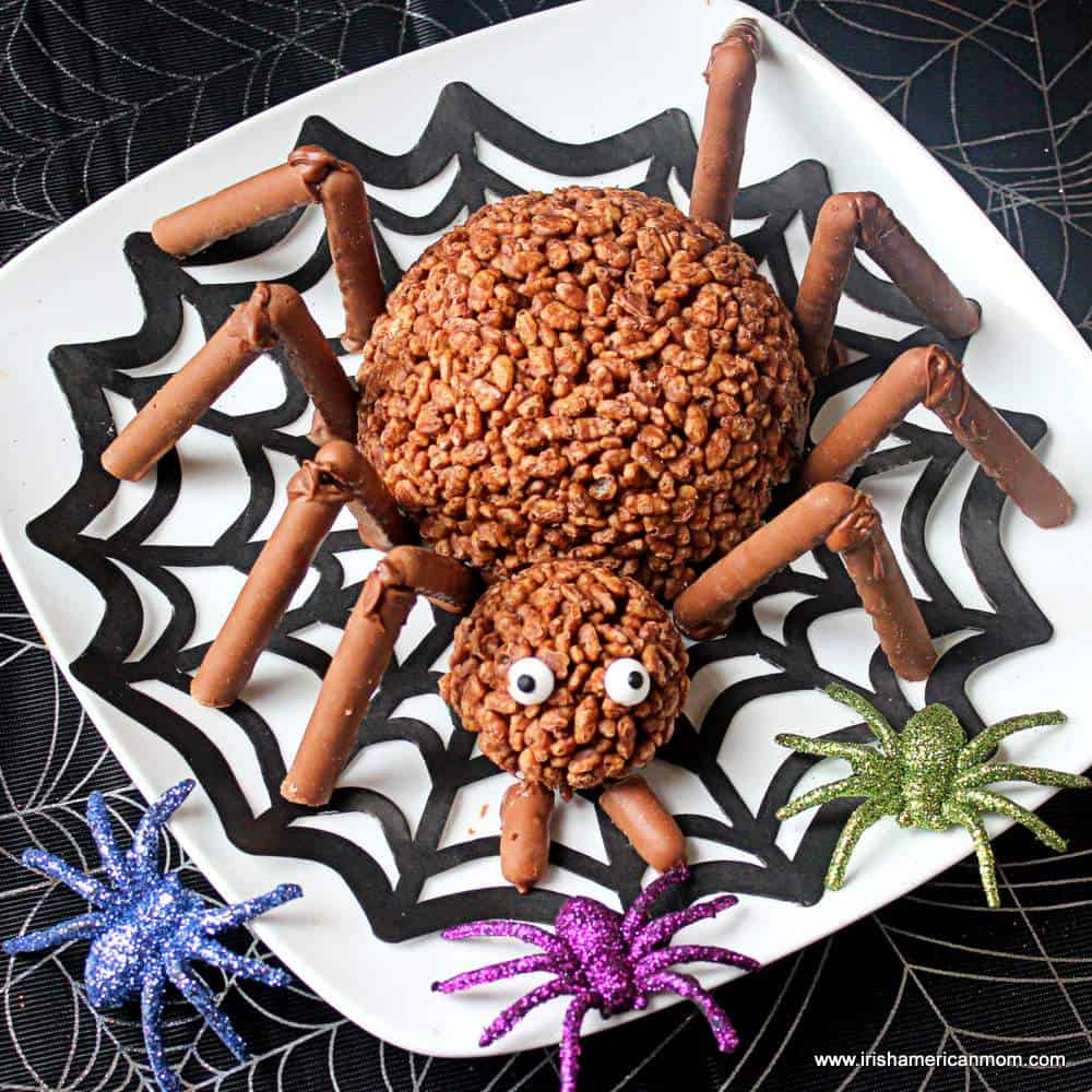 Spider legs made with Cadbury fingers