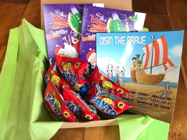 Christmas Gift Baskets For Kids.Irish Childrens Book Gift Basket Giveaway For Christmas