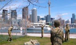 Irish Famine Memorial in Toronto