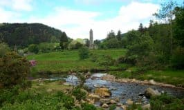 Roundtower in Glendalough Wicklow