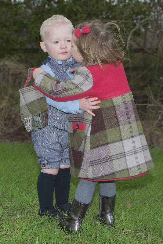 Chidren's tweed clothing from Donegal Ireland
